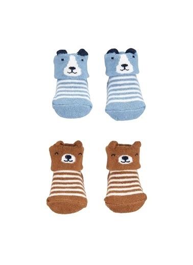 Carters Carter'S 4'Lü Bebek Çorabı Mavi
